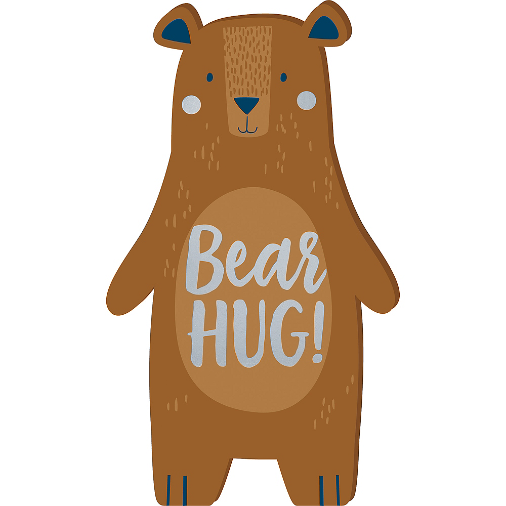 Mini Can Bearly Wait Bear Sign Image #1