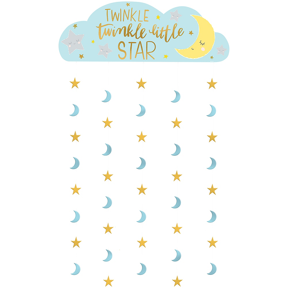 Twinkle Twinkle Little Star Photo Booth Backdrop Image #1