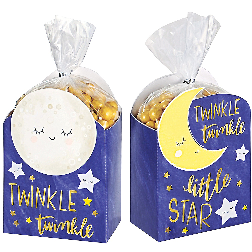 Nav Item for Twinkle Twinkle Little Star Favor Box Kit 8ct Image #1
