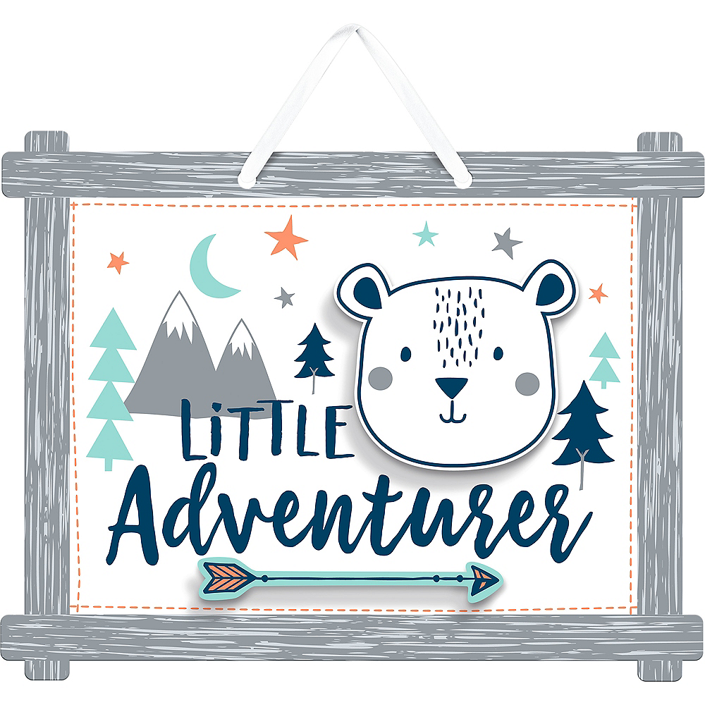 Can Bearly Wait Little Adventurer Sign Image #1