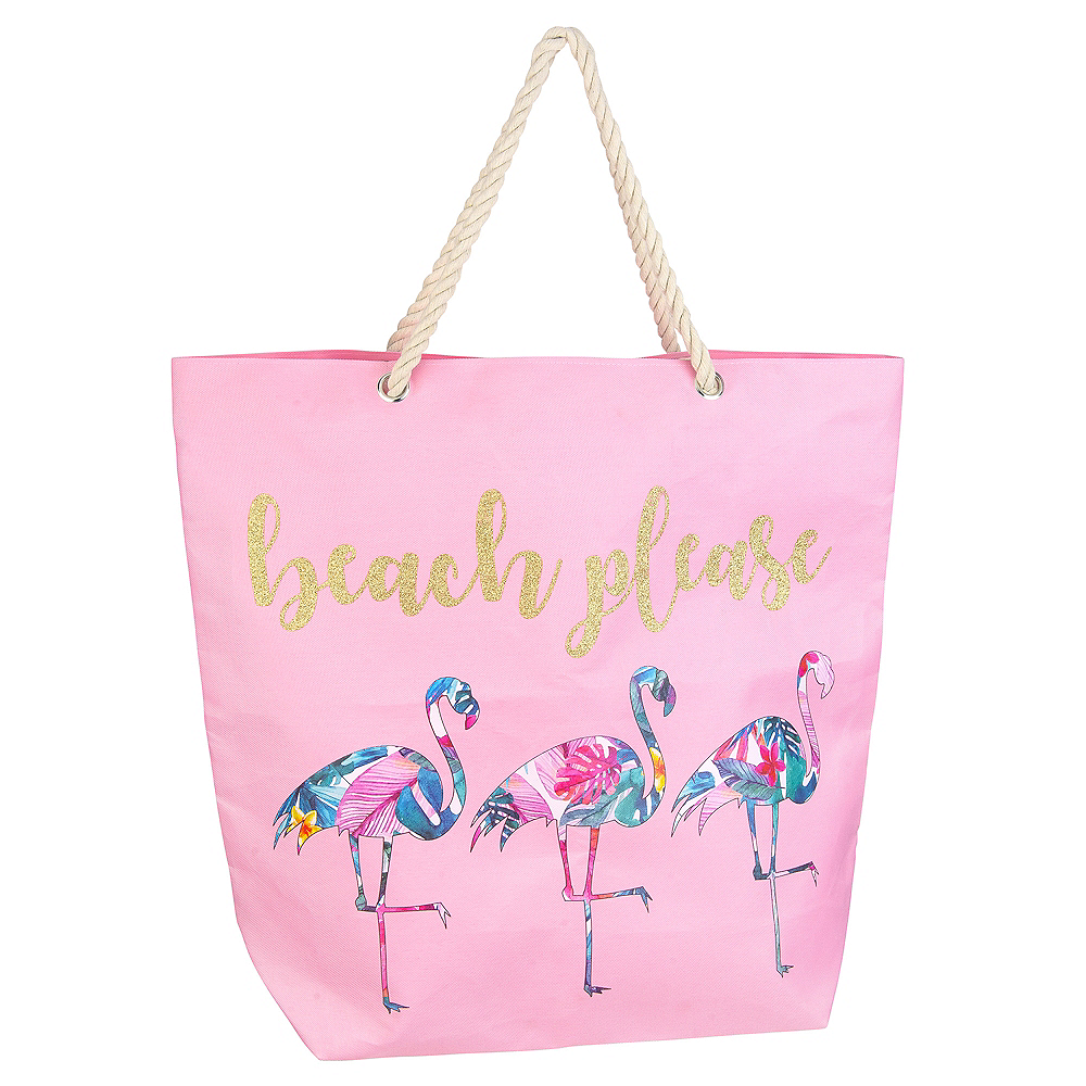 Beach Please Tote Bag Image #1