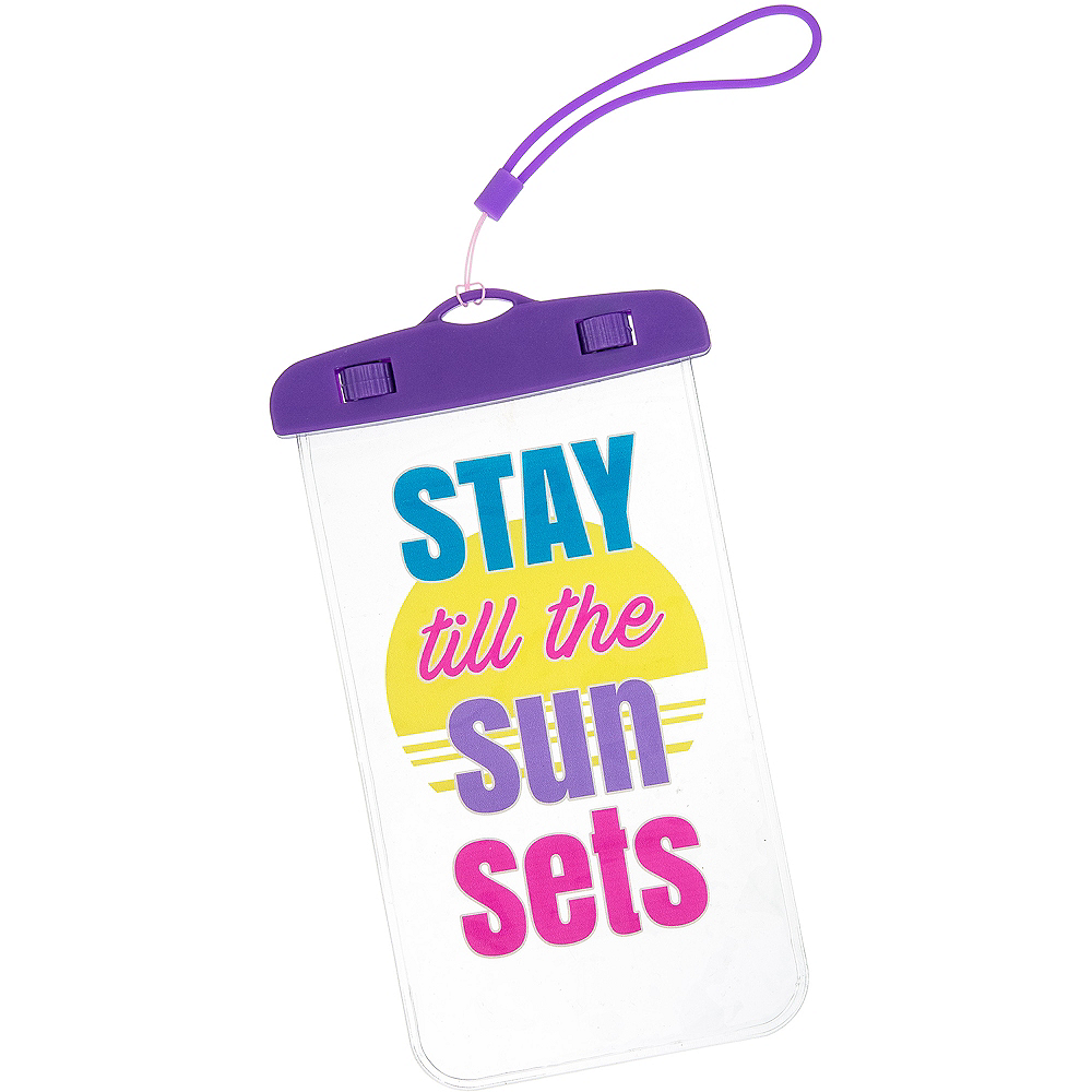 Water Resistant Stay Till The Sun Sets Phone Case Image #1
