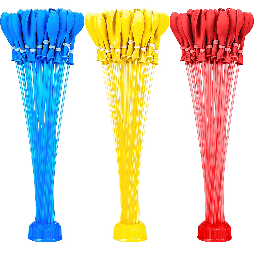 Blue, Red & Yellow Bunch O Balloons 100ct Image #1