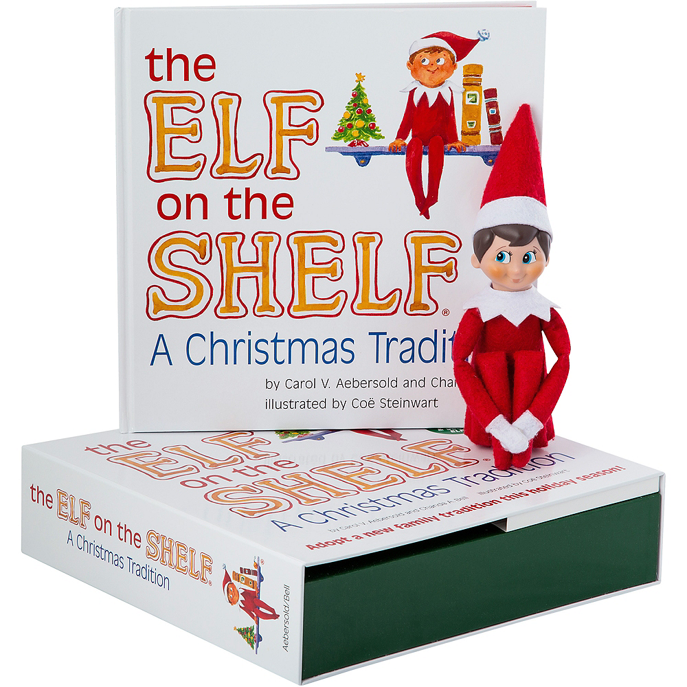 The Elf on the Shelf: A Christmas Tradition with Blue-Eyed Boy Scout Elf Image #1