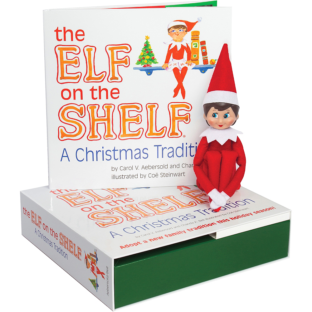 The Elf on the Shelf: A Christmas Tradition with Blue-Eyed Girl Scout Elf Image #1