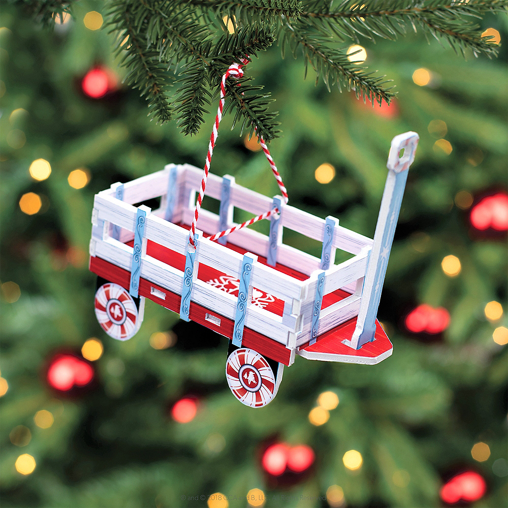 Scout Elves at Play® Orna-Moments Wintry Wagon Image #3
