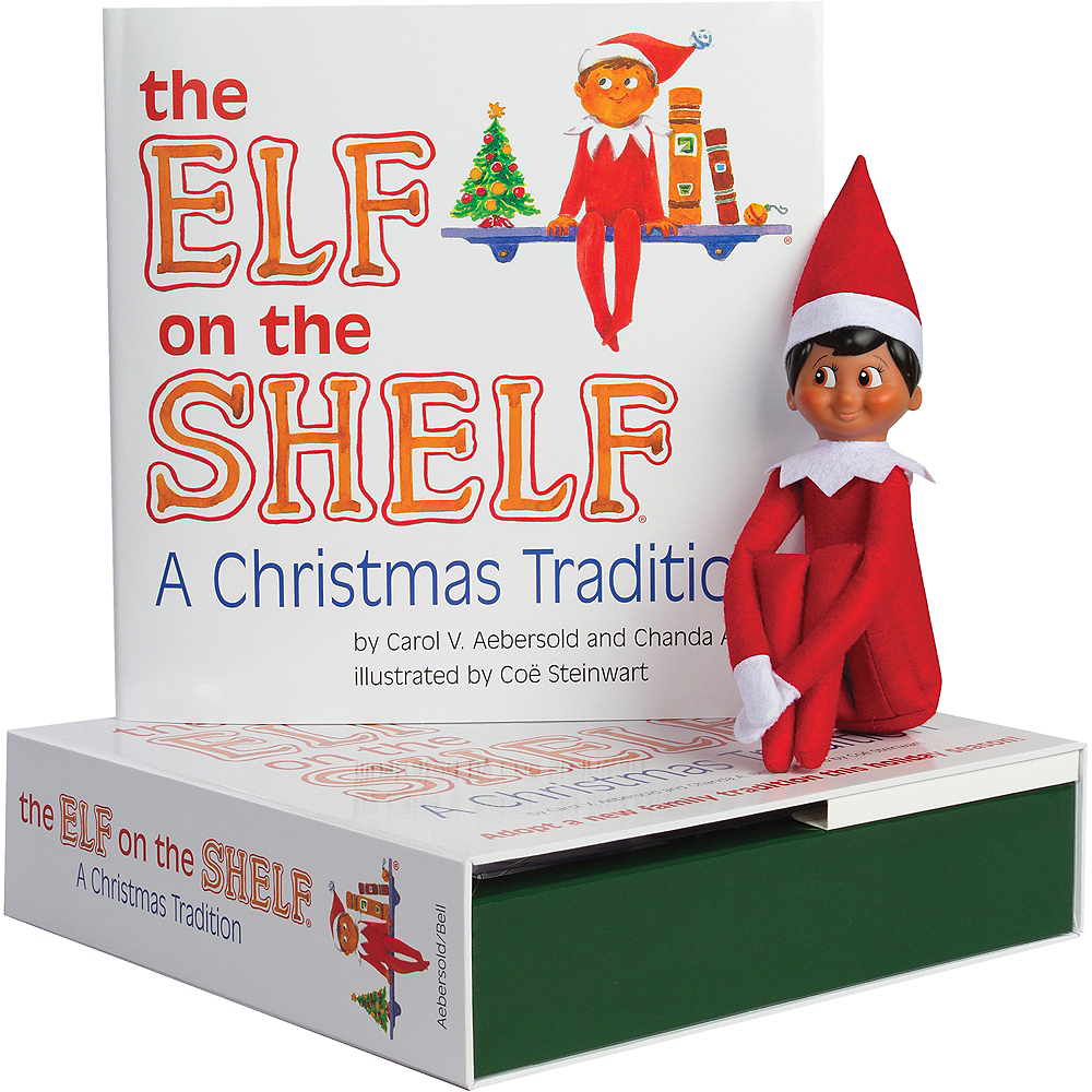 The Elf on the Shelf: A Christmas Tradition with Brown-Eyed Boy Scout Elf Image #1
