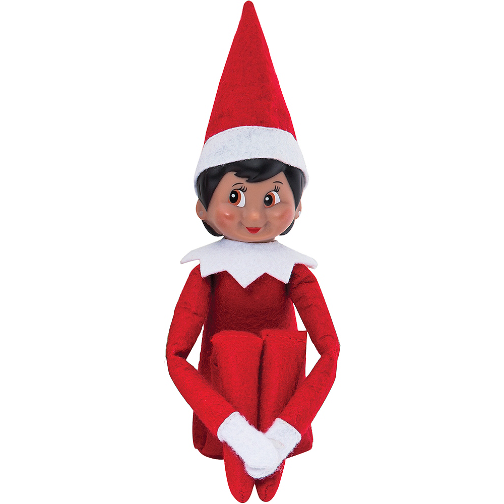 Nav Item for The Elf on the Shelf: A Christmas Tradition with Brown-Eyed Girl Scout Elf Image #2