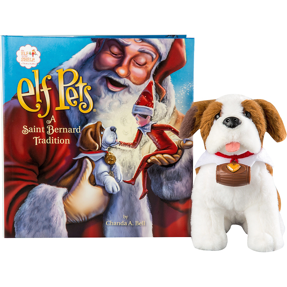 Elf Pets®: A Saint Bernard Tradition Image #1