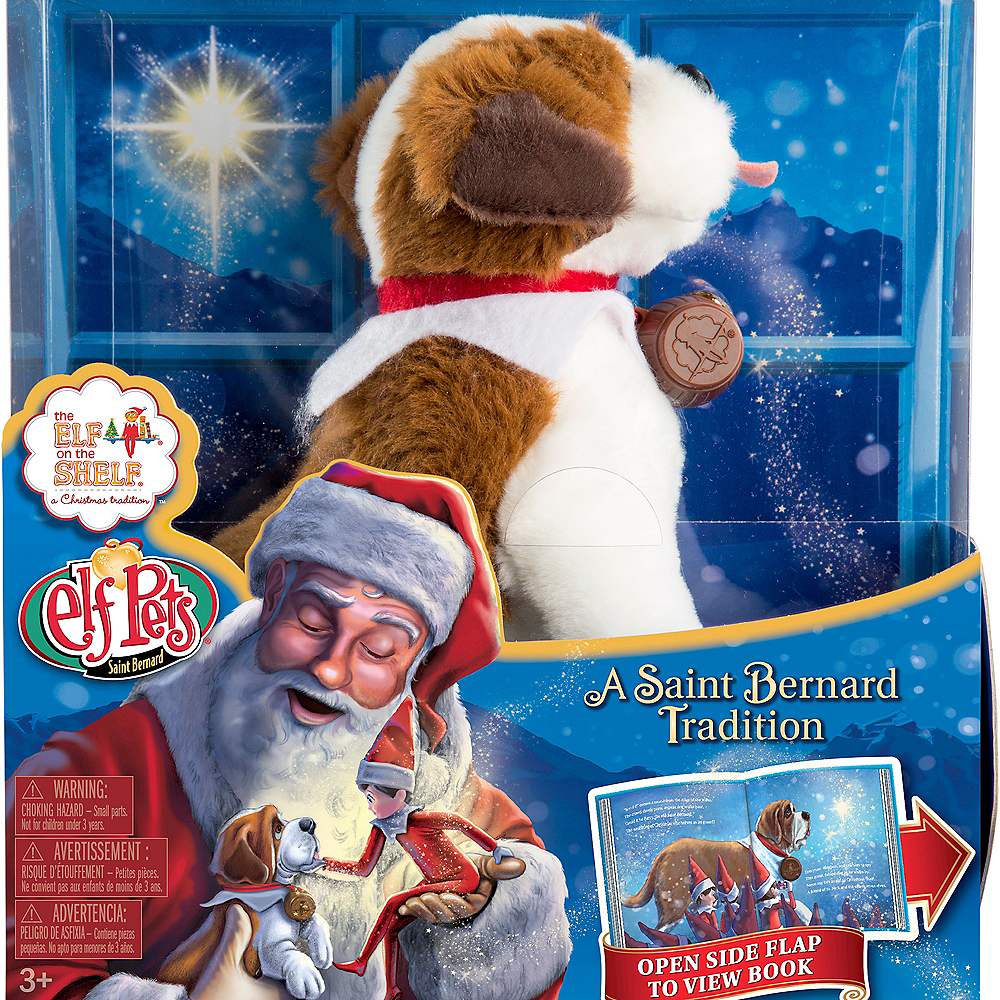 Nav Item for Elf Pets®: A Saint Bernard Tradition Image #3