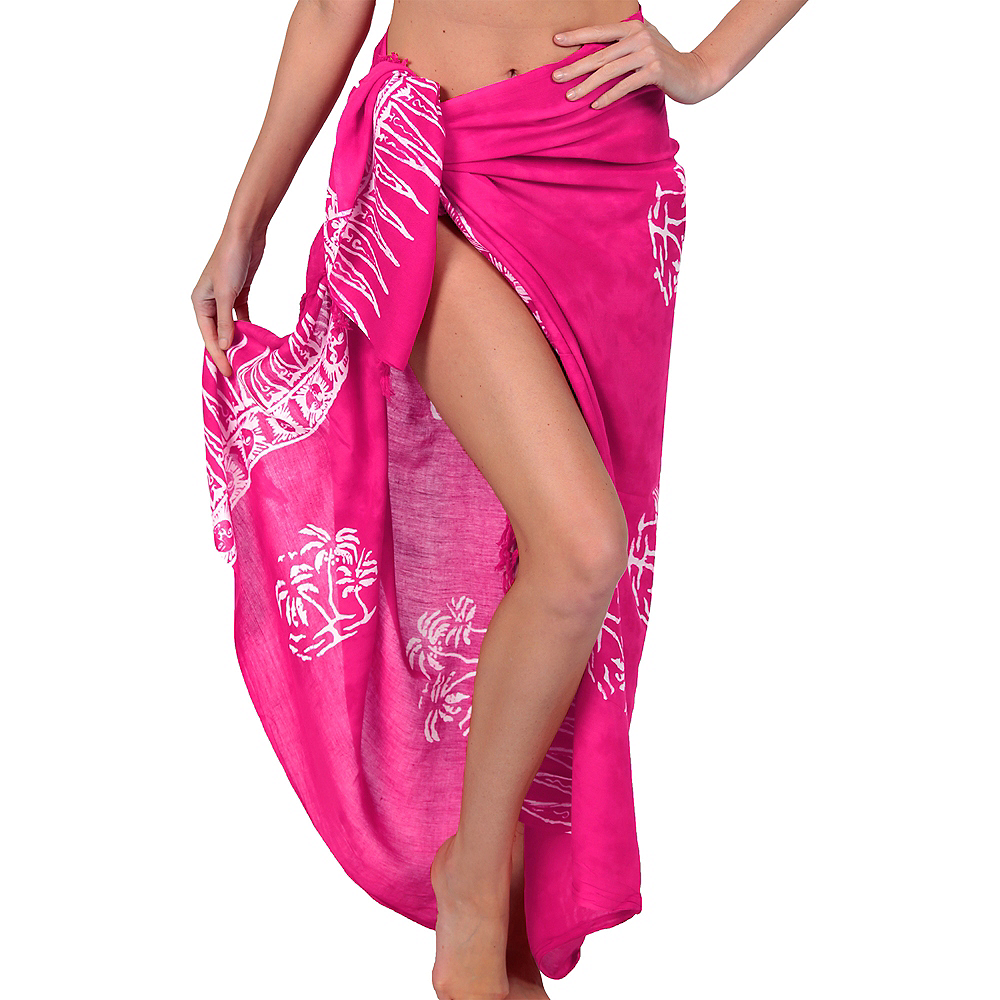 Nav Item for Adult Pink Sarong Image #1