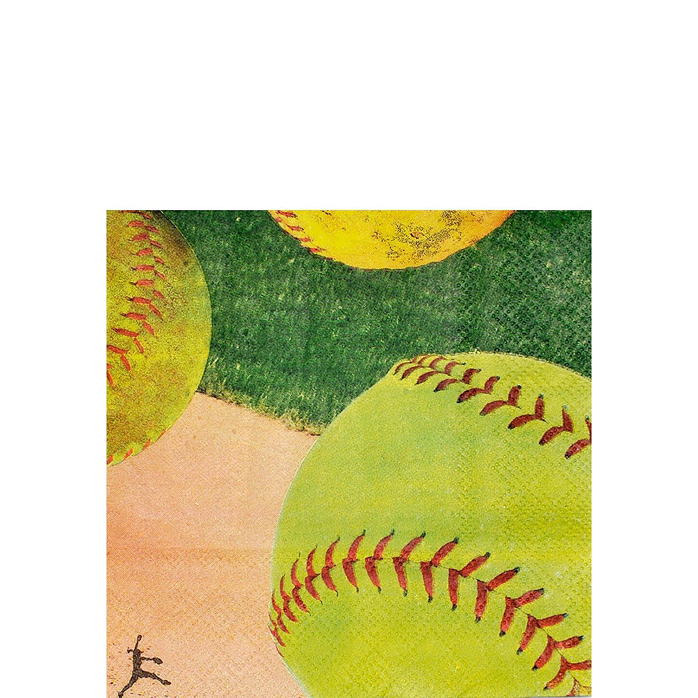 Softball Tableware Kit for 32 Guests Image #4