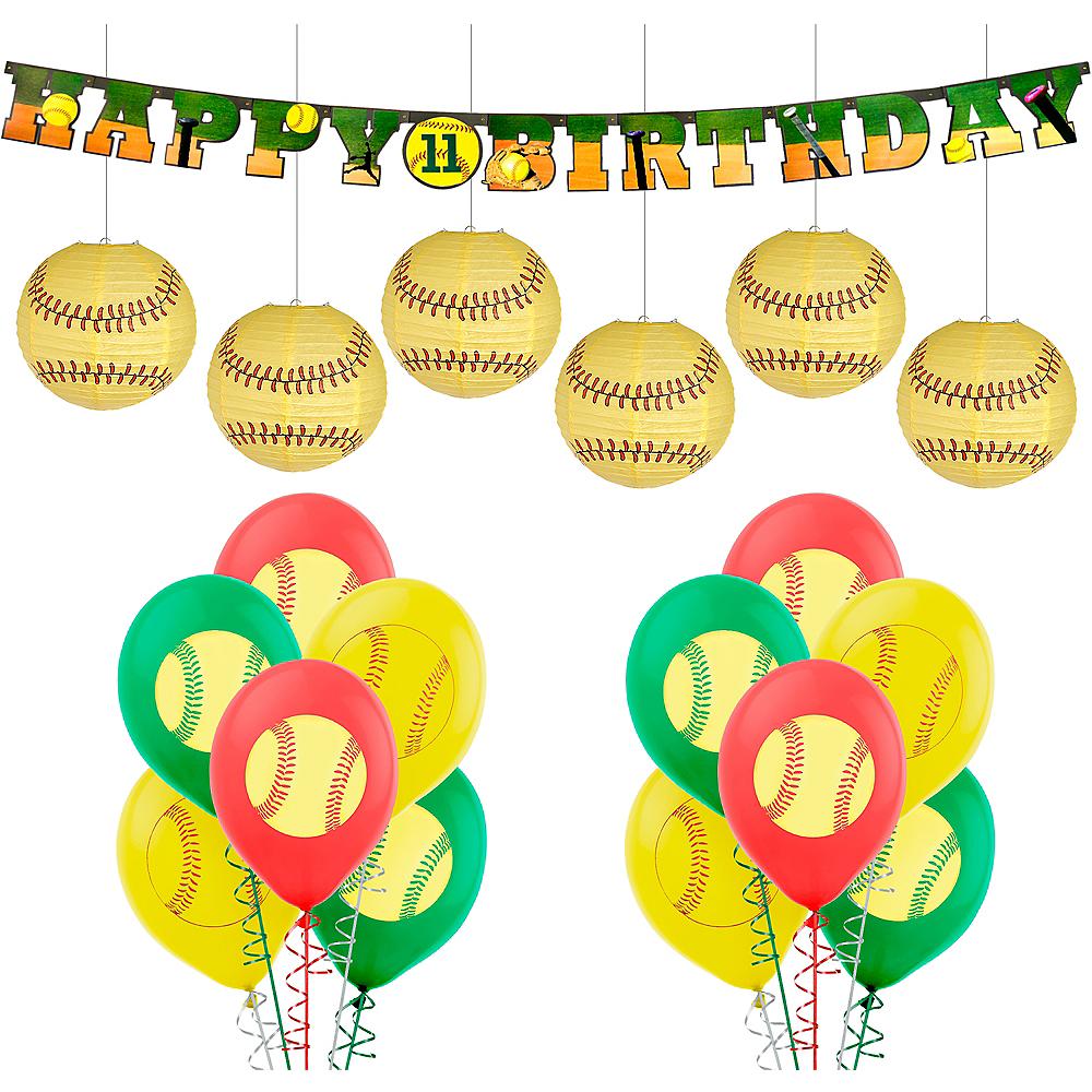 Softball Decorating Kit Image #1