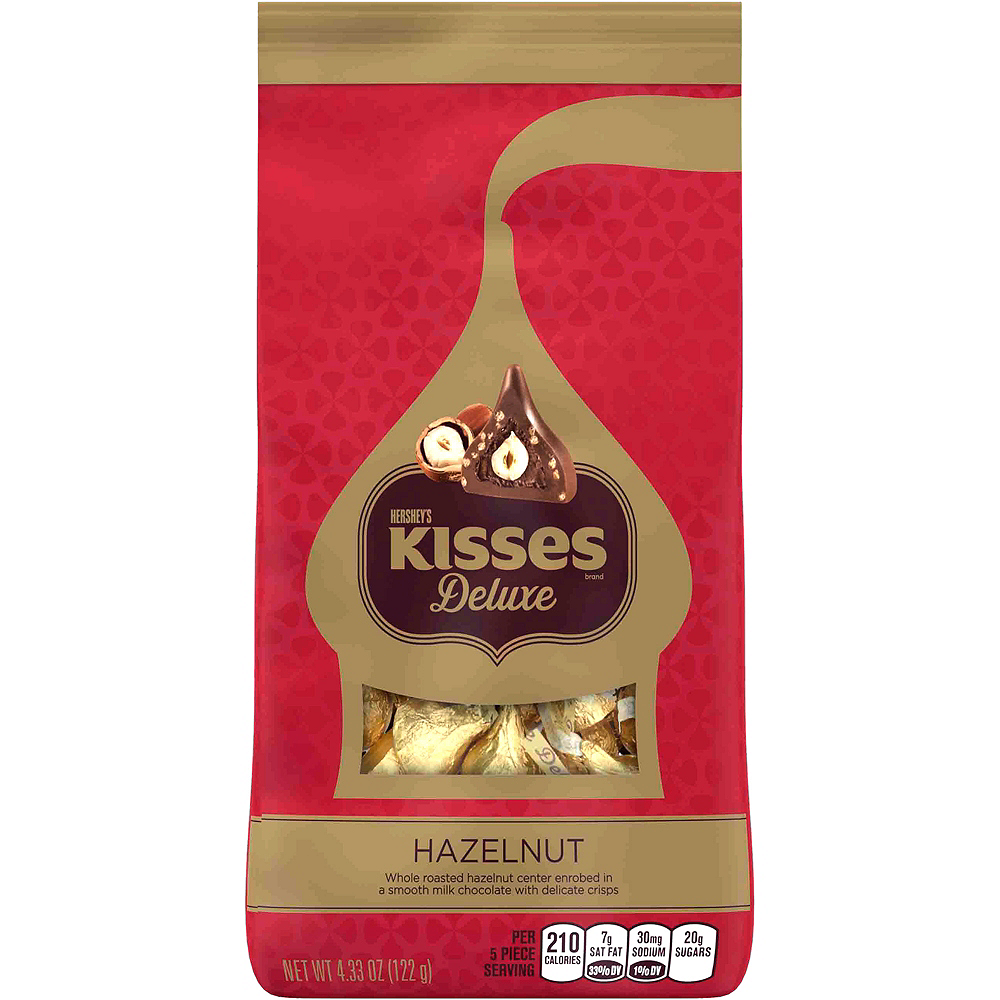 Hershey Kisses Christmas Commercial.Milk Chocolate Hazelnut Hershey S Kisses Deluxe 15ct