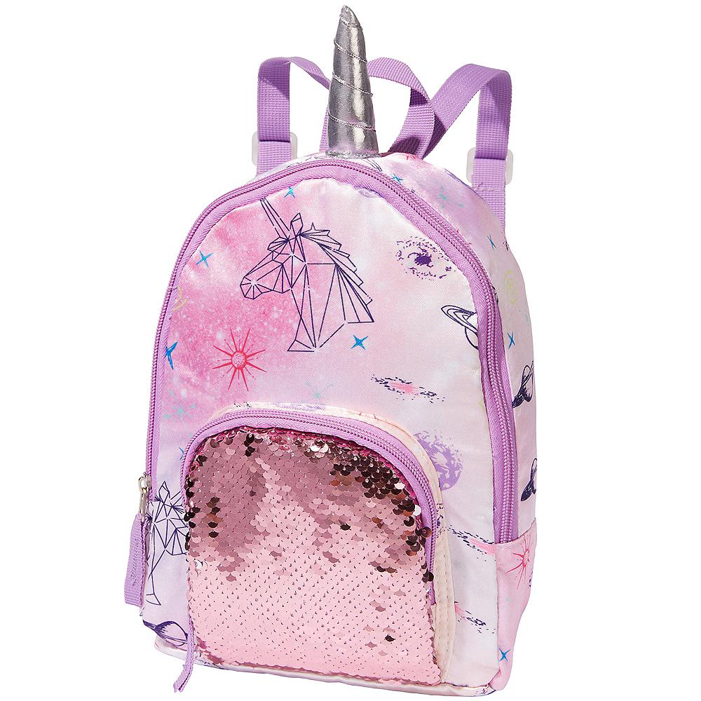 b5ef2577323a Magic Swipe Galactic Unicorn Backpack 7 1 2in x 13 1 4