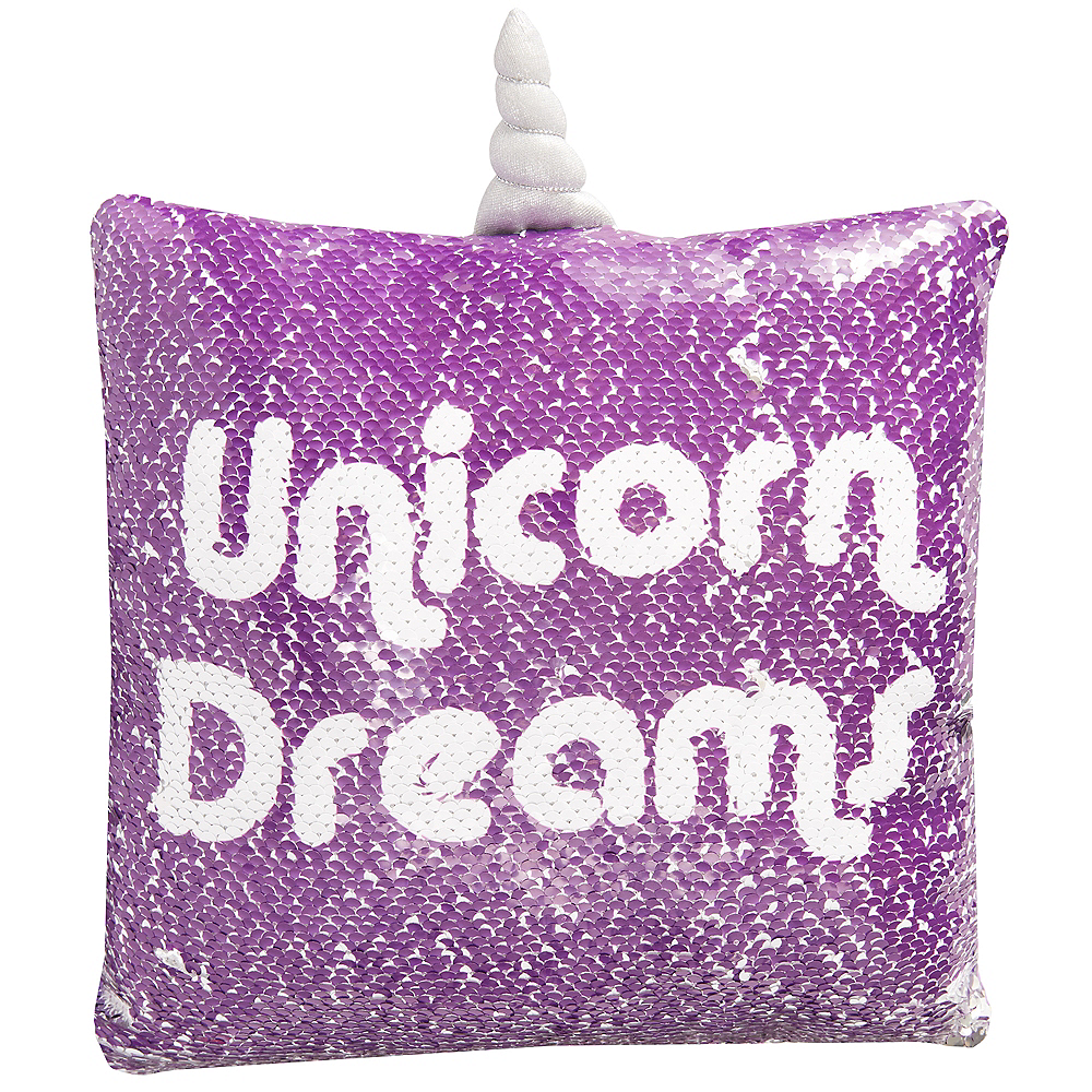 Magic Swipe Galactic Unicorn Pillow Image #1