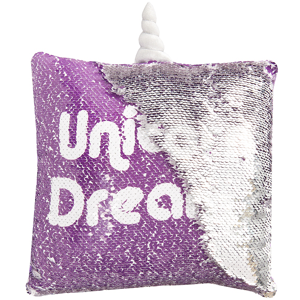 Magic Swipe Galactic Unicorn Pillow Image #2