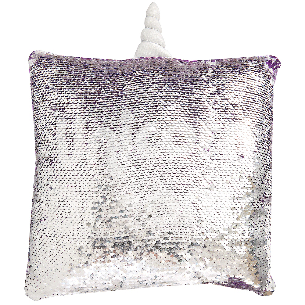 Magic Swipe Galactic Unicorn Pillow Image #3