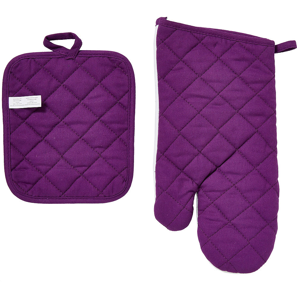 Passover Oven Mitt & Pot Holder Set 2pc Image #3
