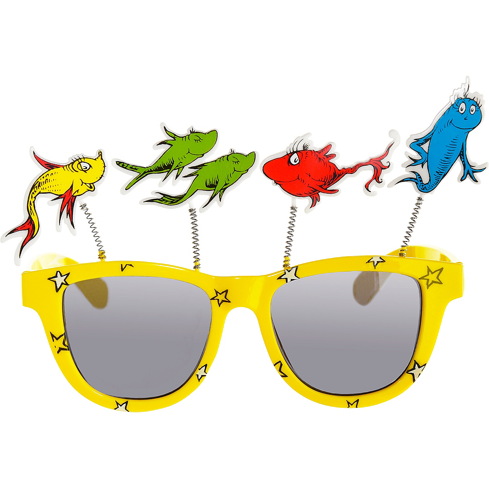 One Fish Two Fish Sunglasses – Dr. Seuss Image #1