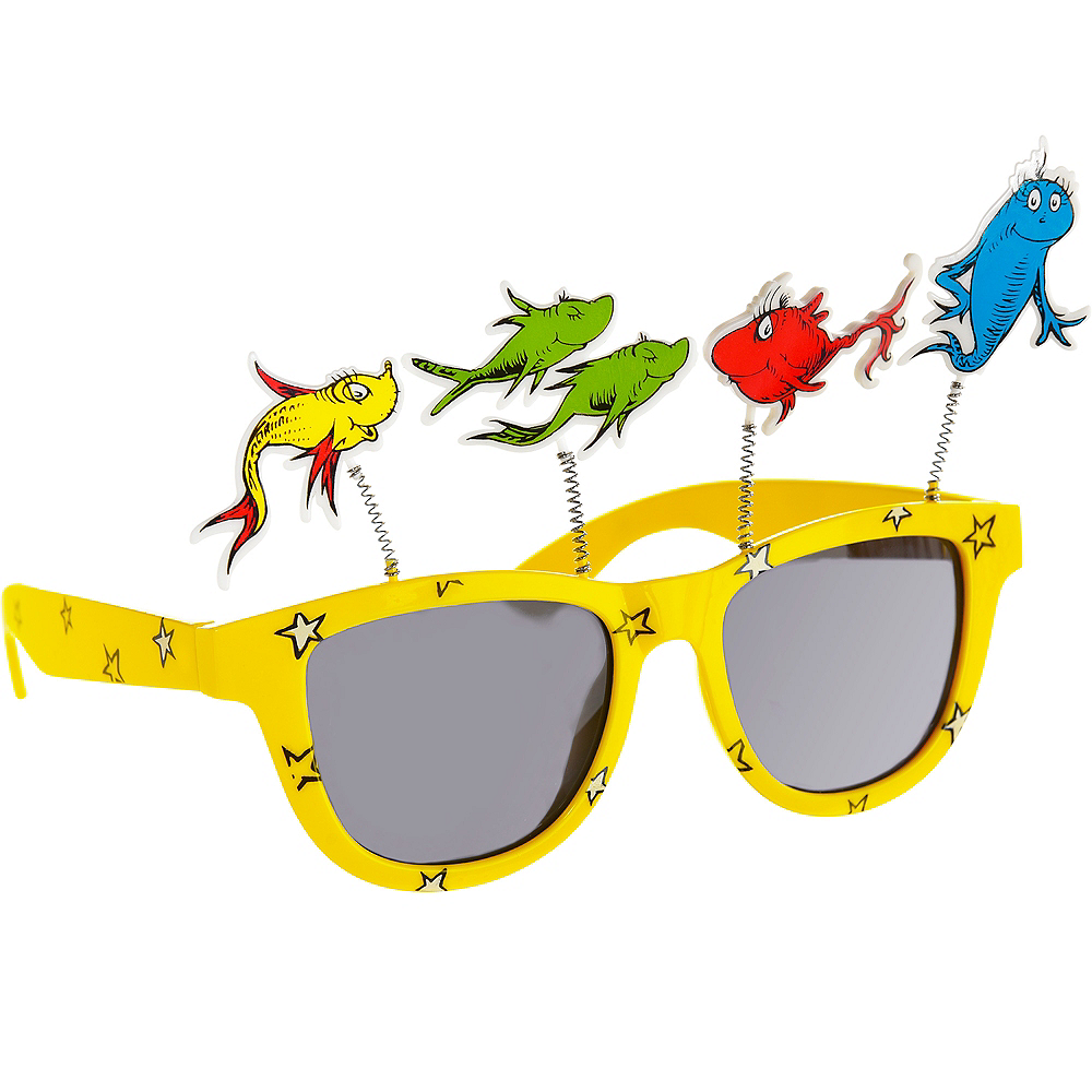 One Fish Two Fish Sunglasses – Dr. Seuss Image #2