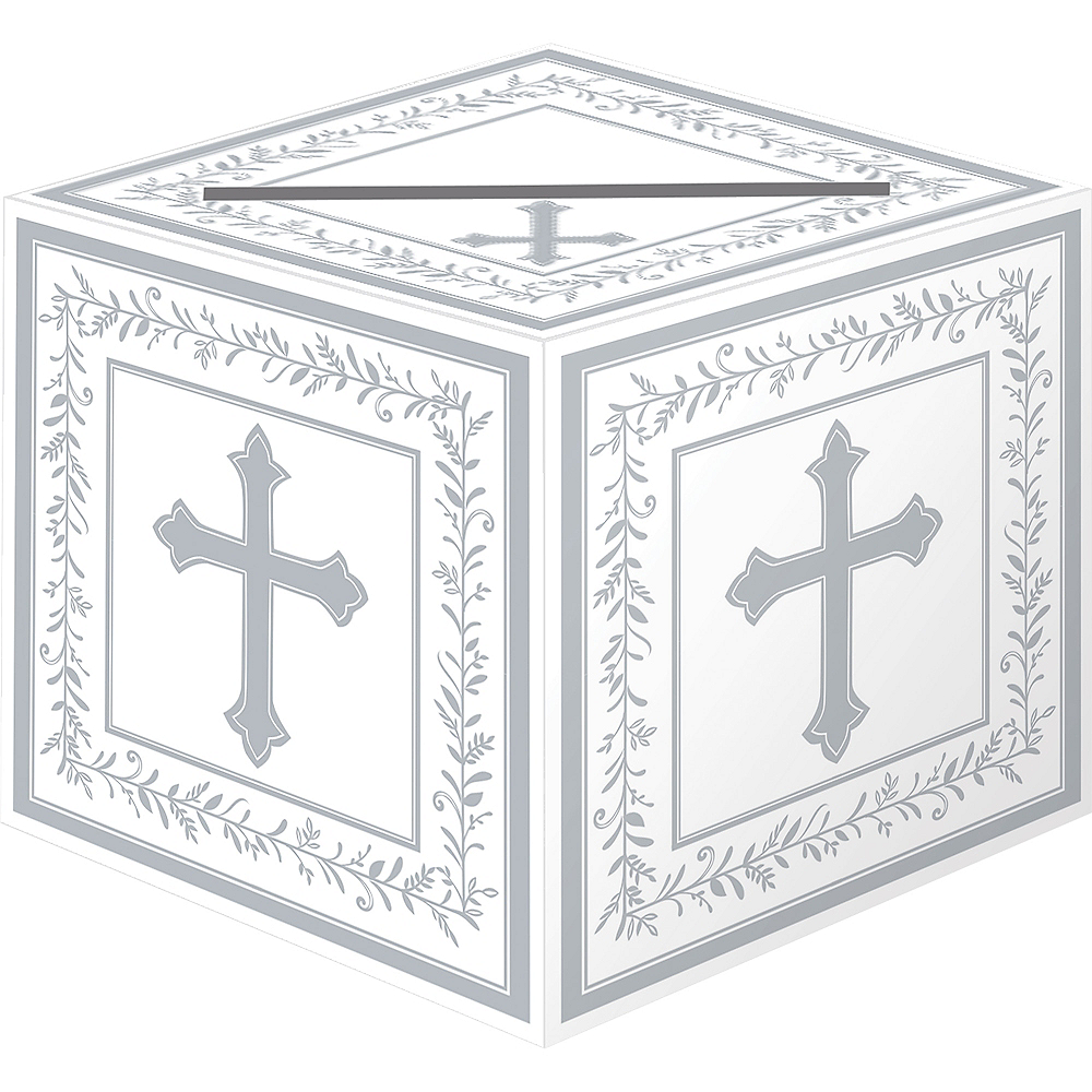 First Communion Card Box Holder Image #1