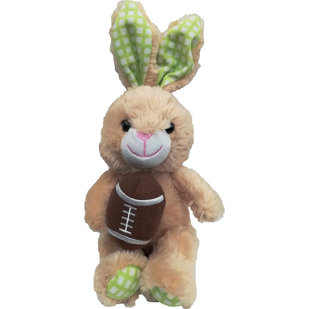 Football Bunny Plush Image #1