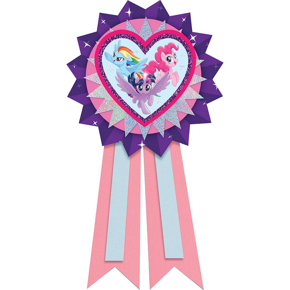 Pink & Purple My Little Pony Award Ribbon Image #1