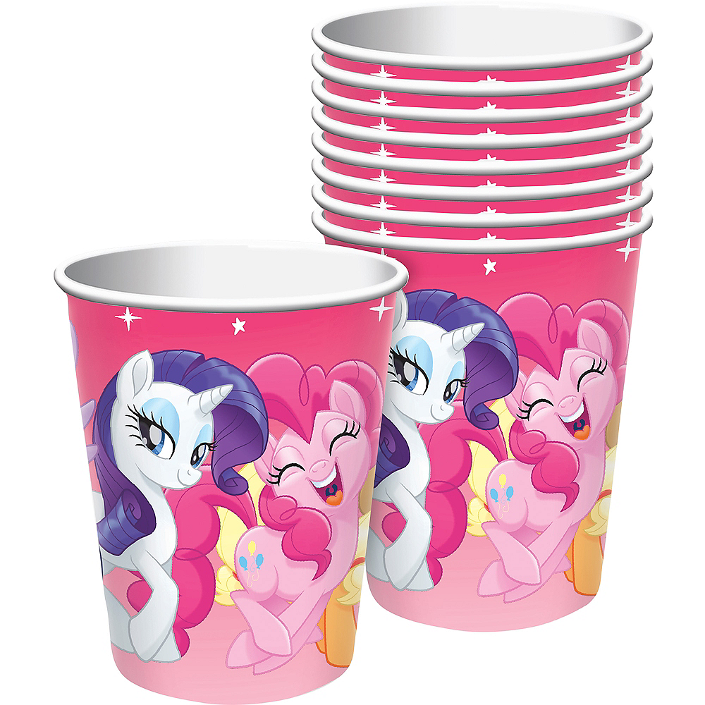 Pink My Little Pony Cups 8ct Image #1