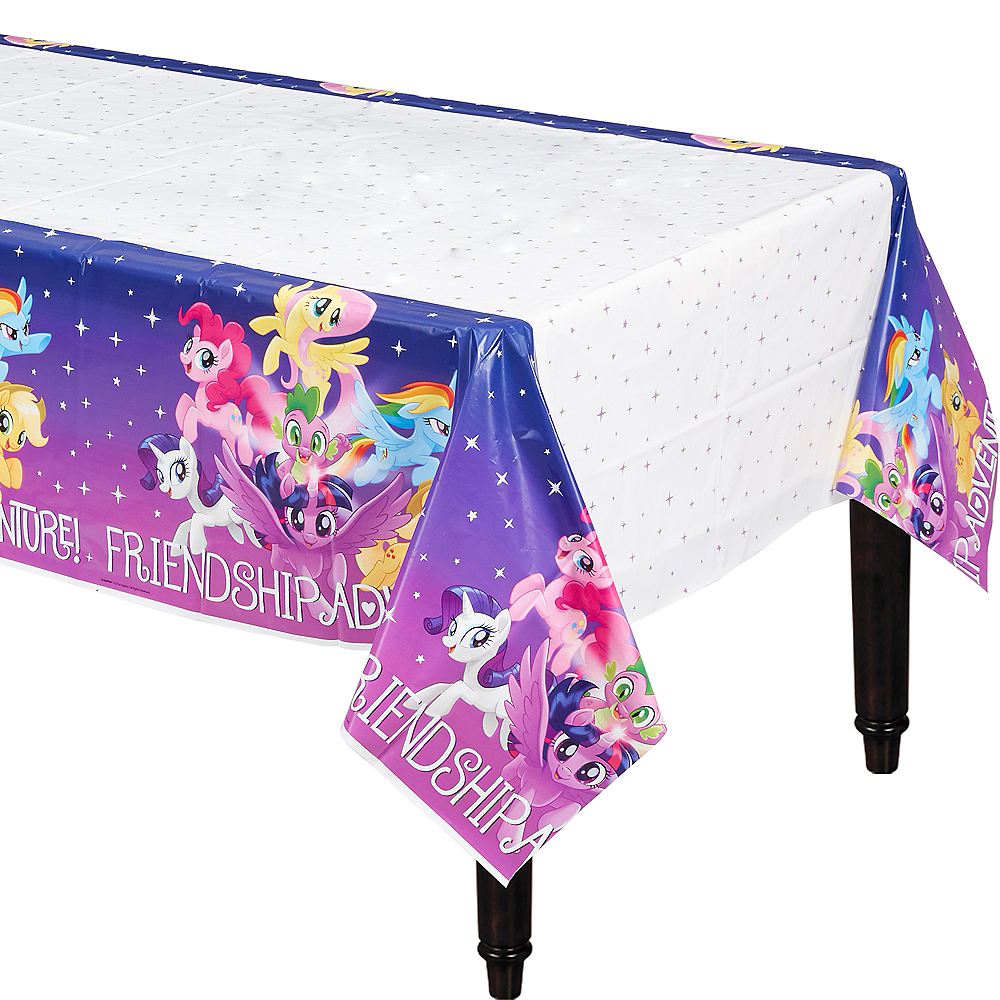 Friendship Adventure My Little Pony Table Cover Image #1