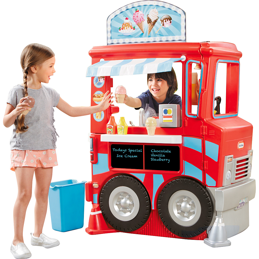 Little Tikes 2-in-1 Food Truck Kitchen Image #1