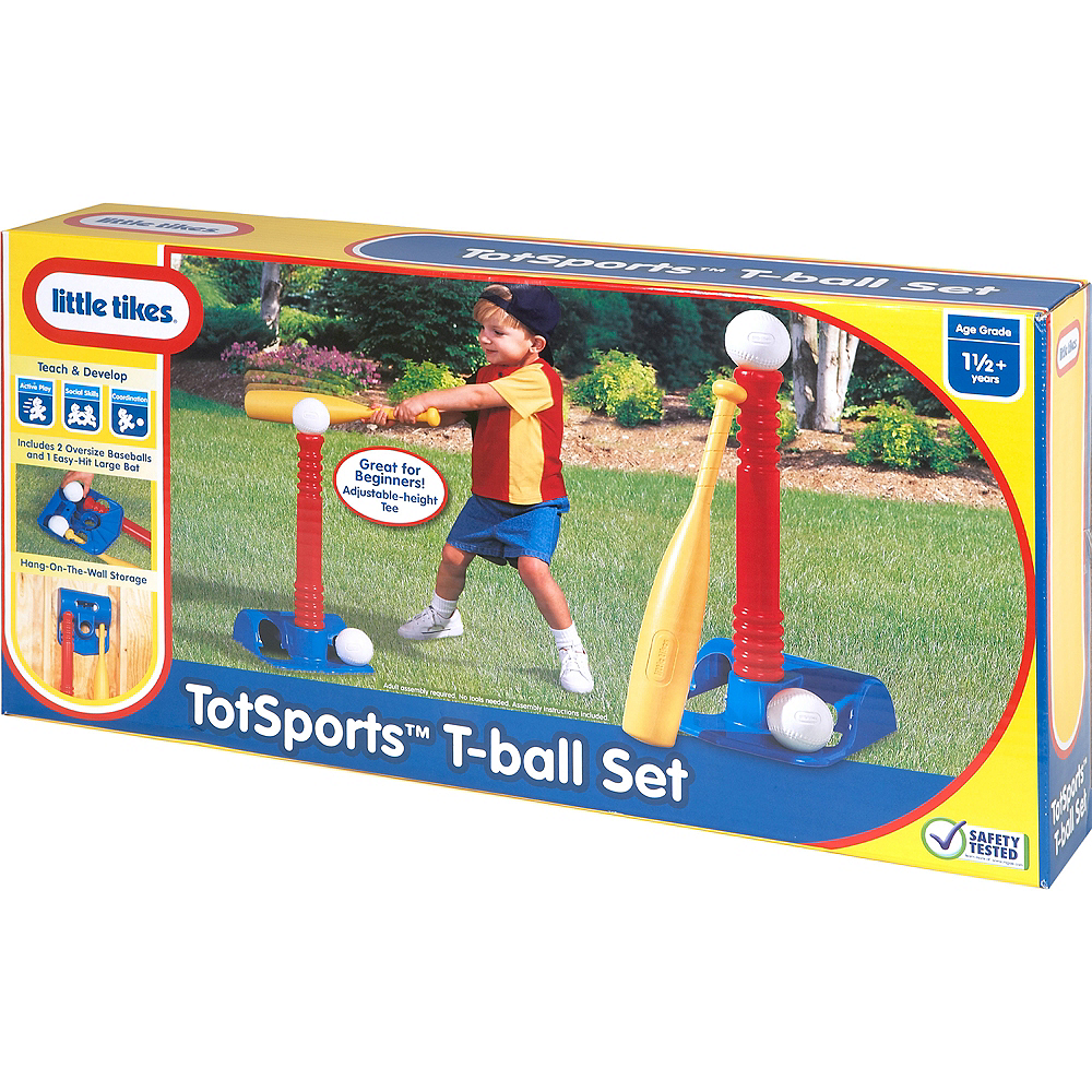 Little Tikes Red TotSports™ T-Ball Set Image #1