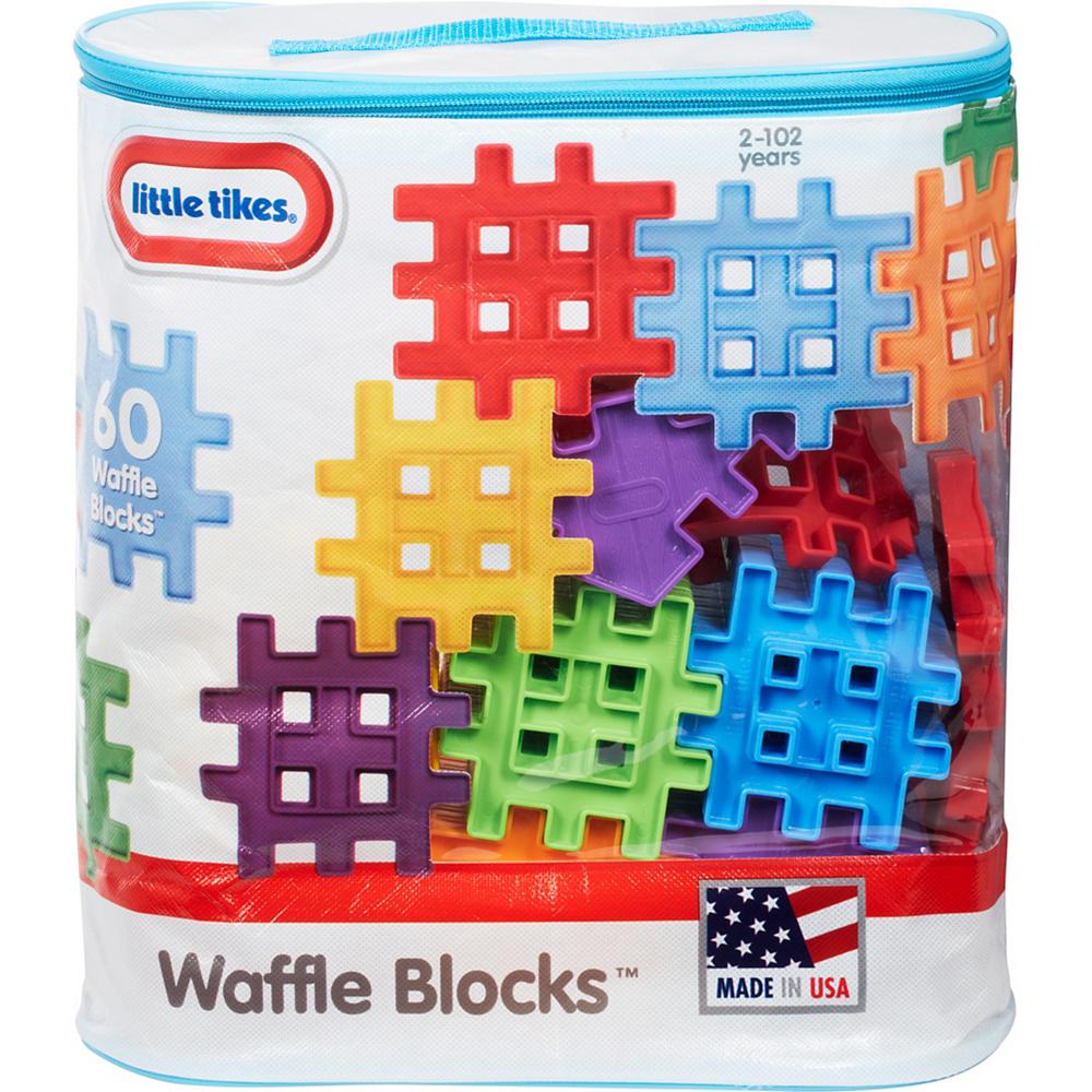 Little Tikes Waffle Blocks 60pc Image #1