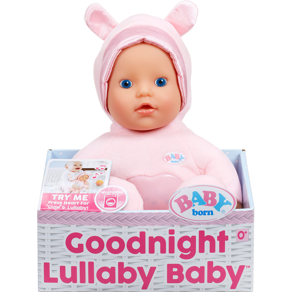 Baby Born Light Pink Goodnight Lullaby Baby Party City