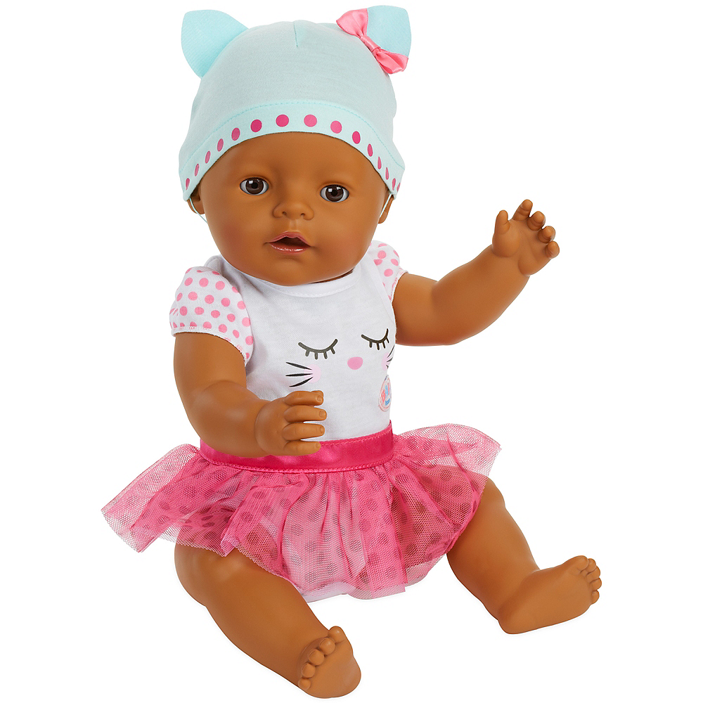 Baby Born Interactive Baby Doll with Dark Brown Eyes Image #3