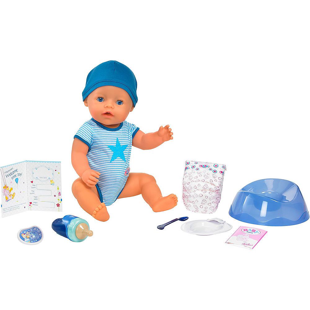 Baby Born Interactive Boy Doll With Blue Eyes Image 3