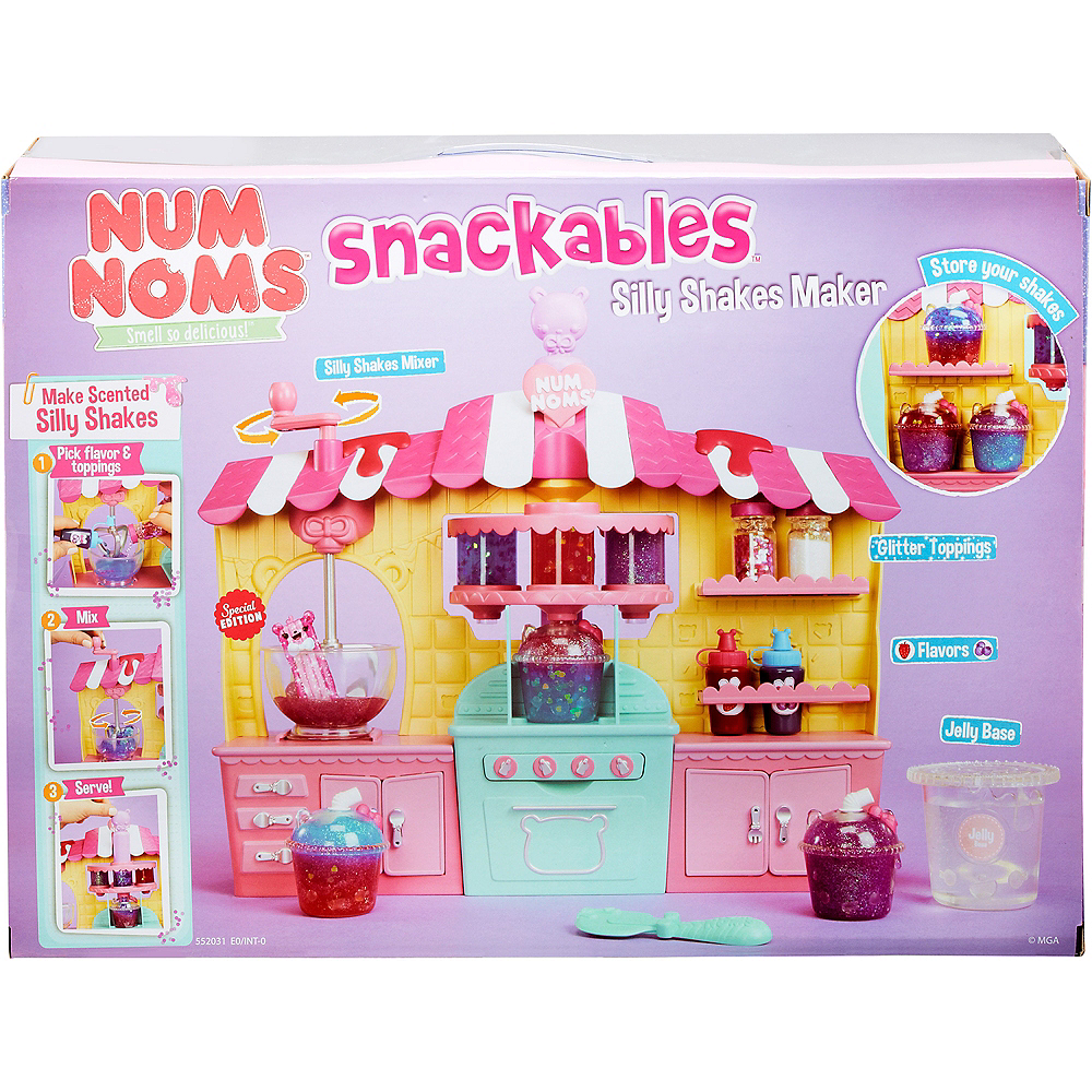 Num Noms Snackables Silly Shakes Maker Playset Image #1