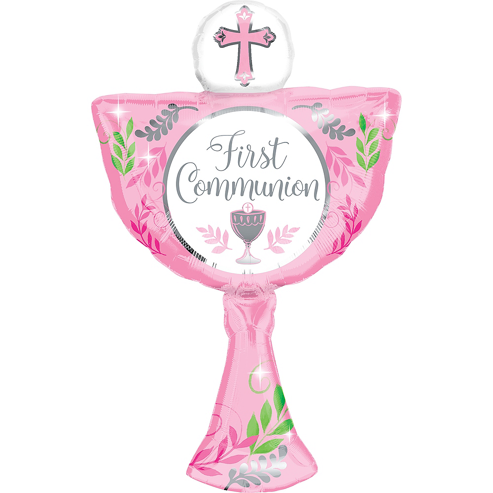 Giant Pink Chalice Communion Balloon, 20in Image #1