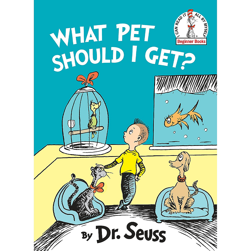 Dr. Seuss What Pet Should I Get Book Image #1