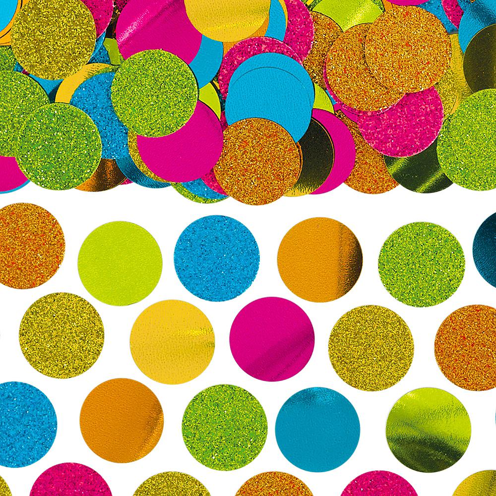 Shiny Multicolor Confetti Image #1