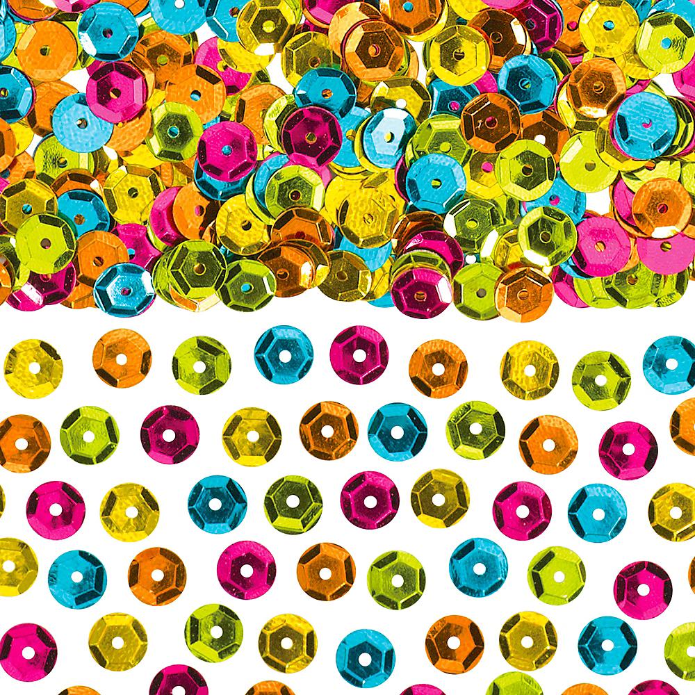 Multicolor Sequin Confetti Image #1