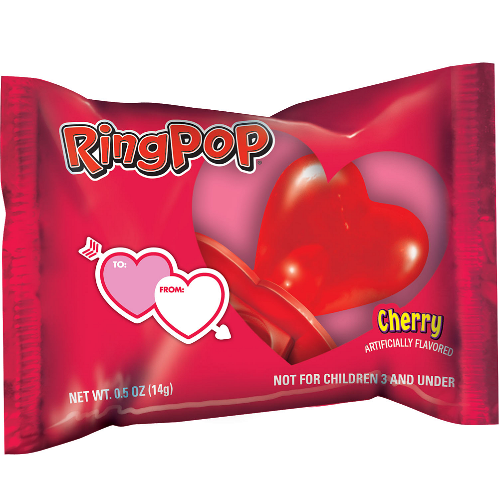 Valentine's Day Ring Pop Image #1