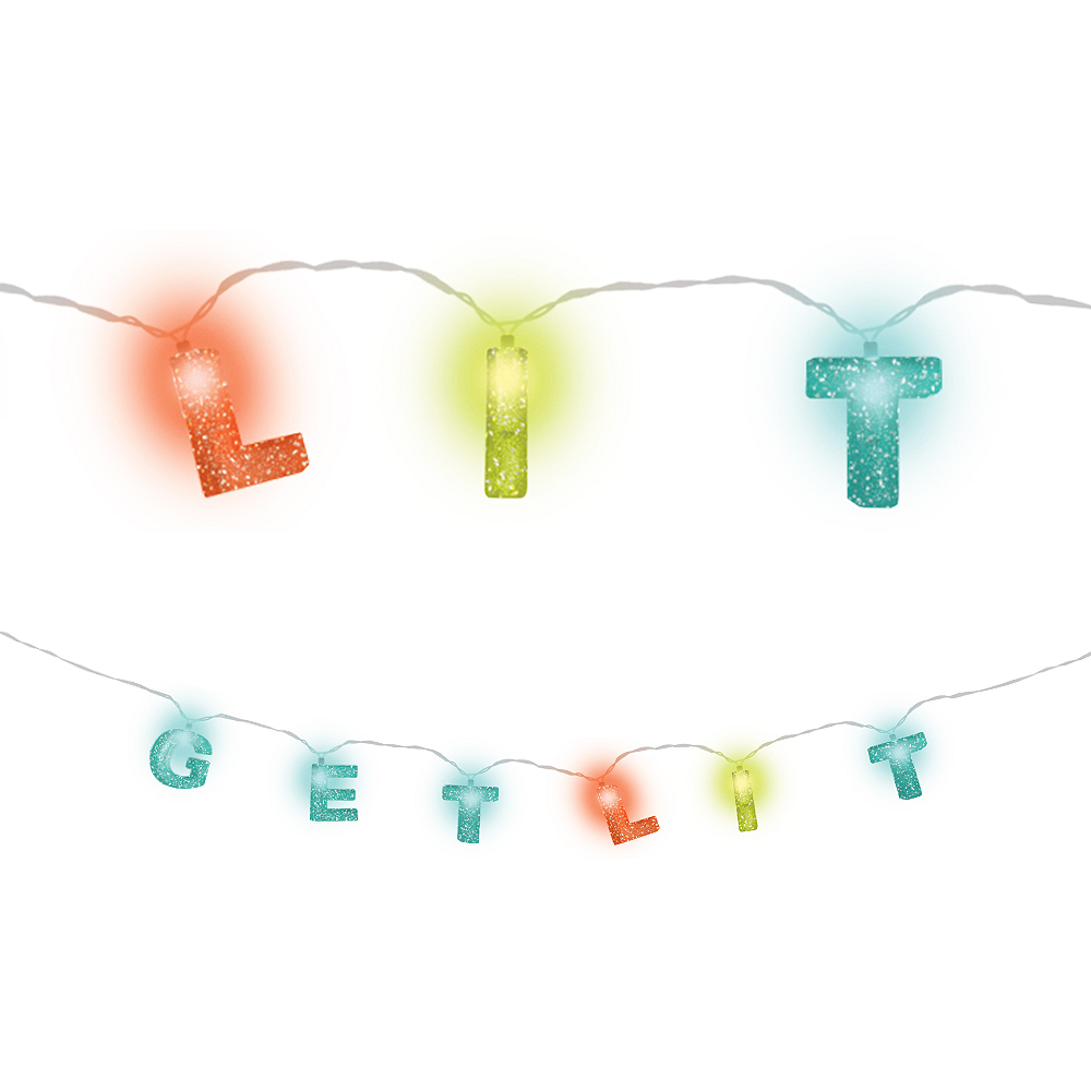 Get Lit LED String Lights Image #1