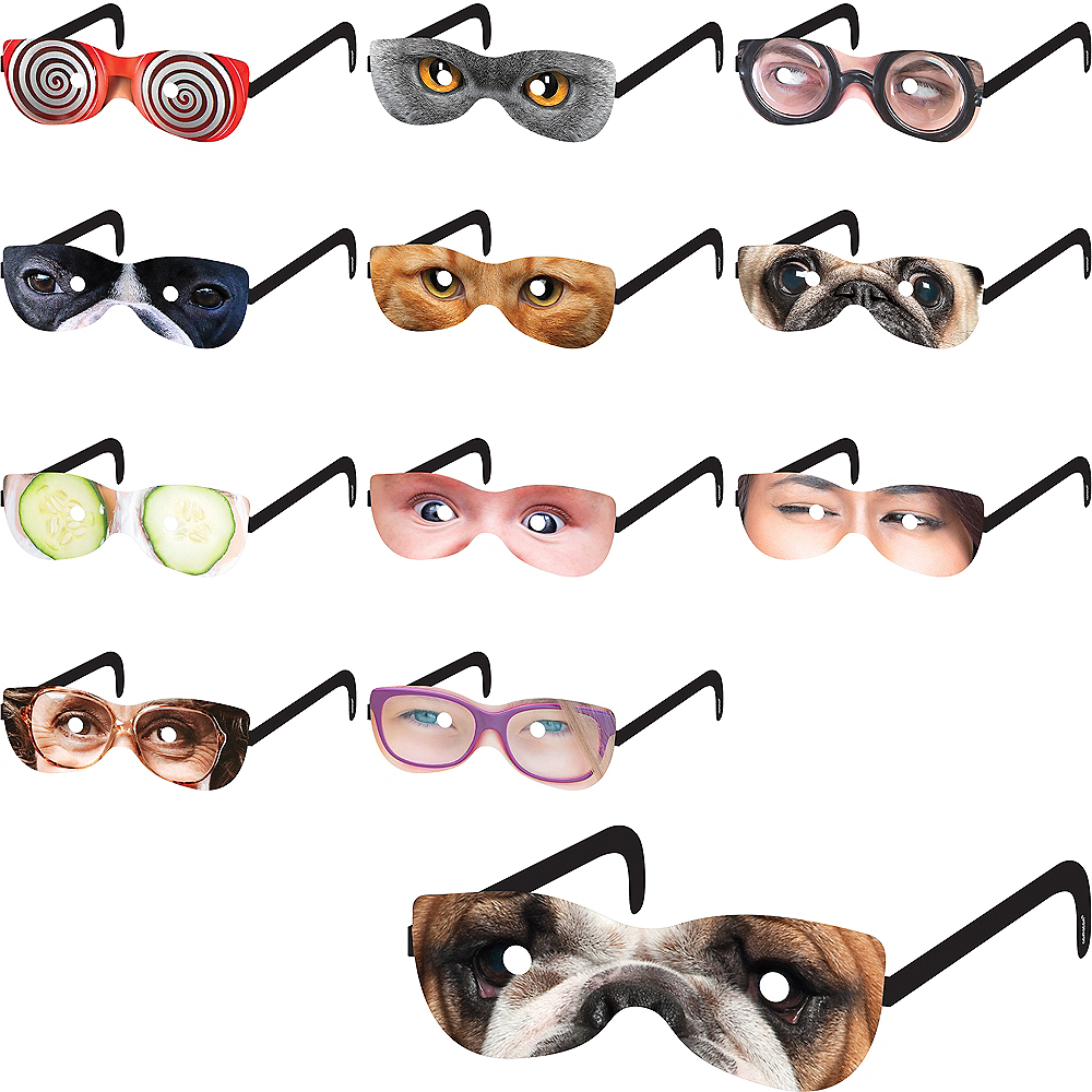 Over the Hill Glasses 12ct Image #1