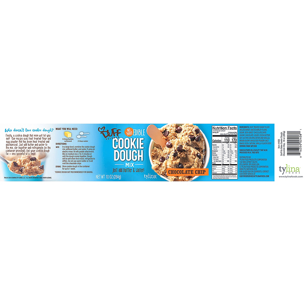 Duff Goldman No Bake Chocolate Chip Cookie Dough Mix Image #3