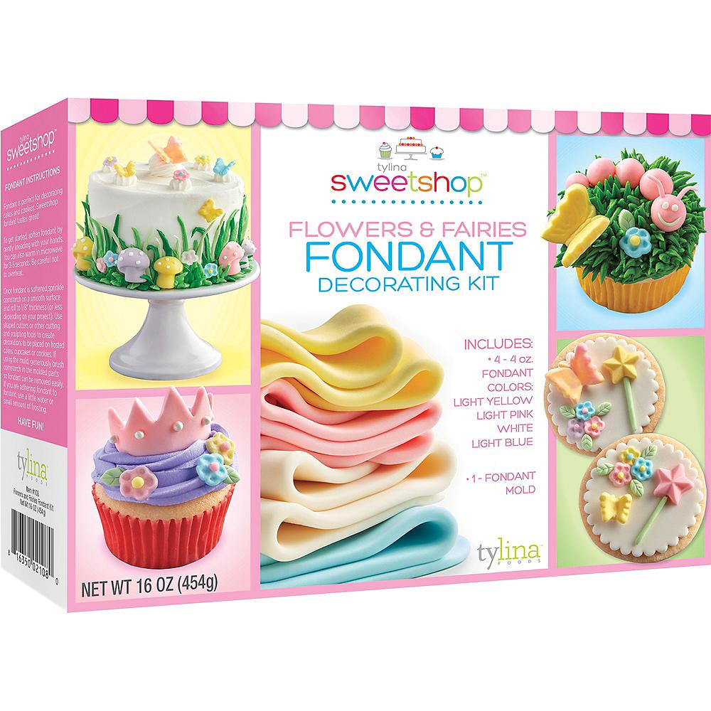 Tylina Flowers & Fairies Fondant Decorating Kit Image #1