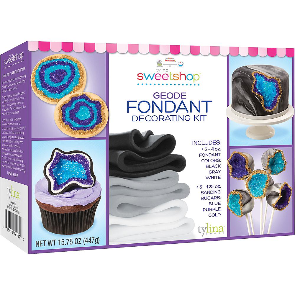 Tylina Geode Fondant Decorating Kit Image #1