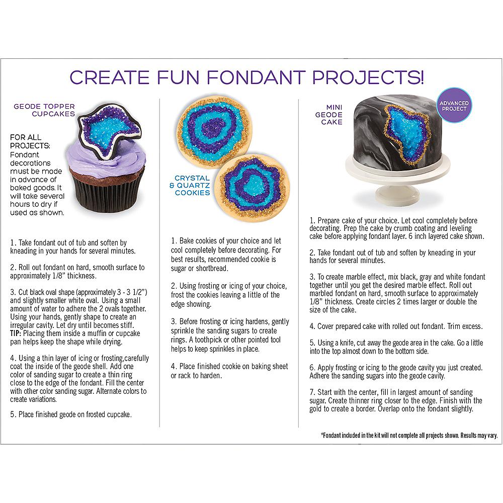 Tylina Geode Fondant Decorating Kit Image #2