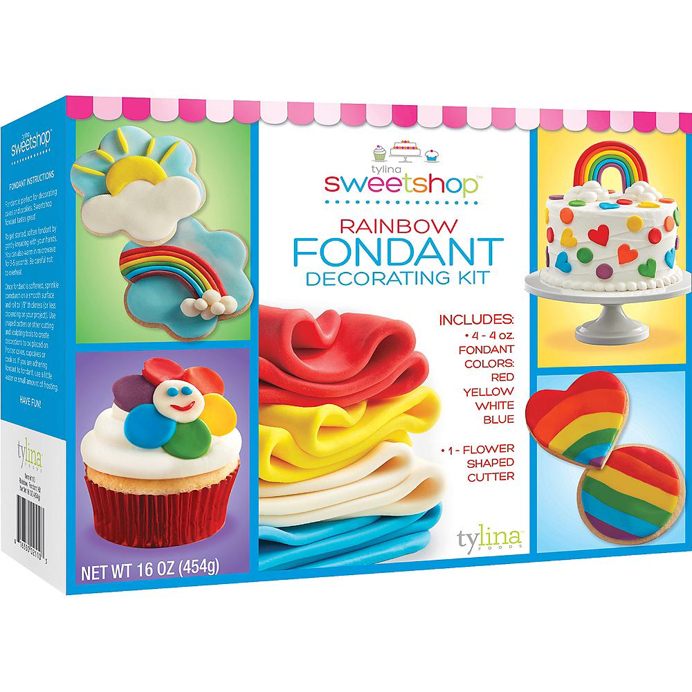 Tylina Rainbow Fondant Decorating Kit Image #1