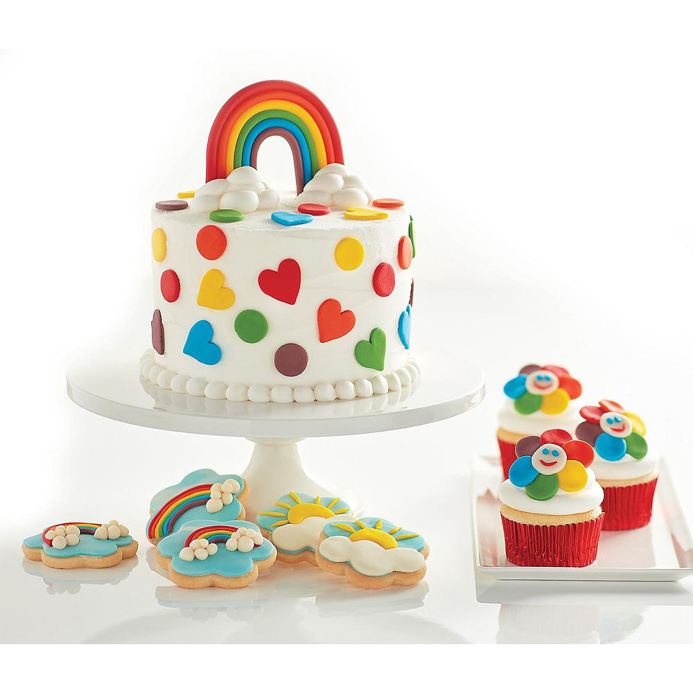 Tylina Rainbow Fondant Decorating Kit Image #2